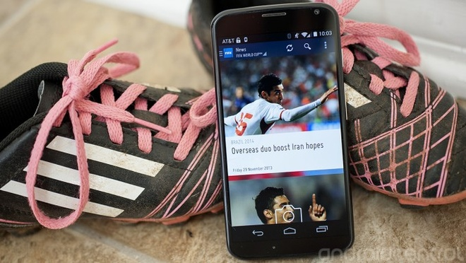 FIFA tung ung dung phuc vu World Cup 2014 hinh anh