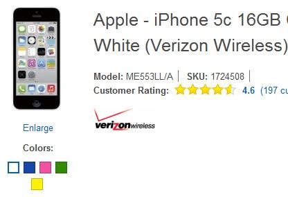 Blog 21h: Nha ban le My lai ha gia iPhone 5C con 0 dong hinh anh