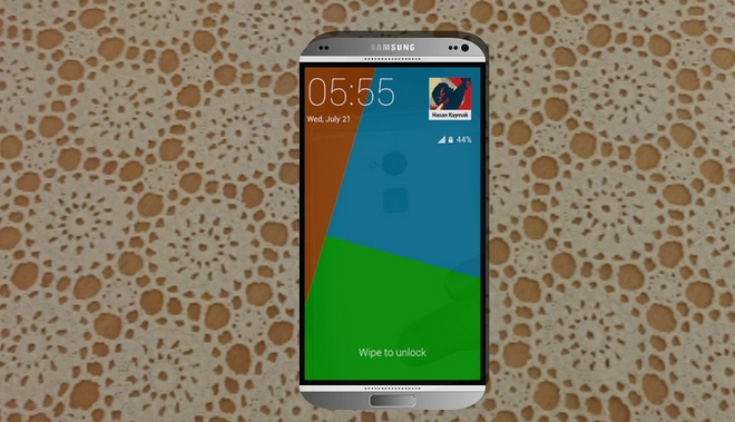 Ban dung Galaxy S5 vo kim loai dep lung linh hinh anh 1