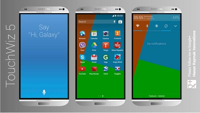 Ban dung Galaxy S5 vo kim loai dep lung linh hinh anh 2