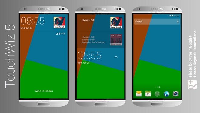 Ban dung Galaxy S5 vo kim loai dep lung linh hinh anh 3