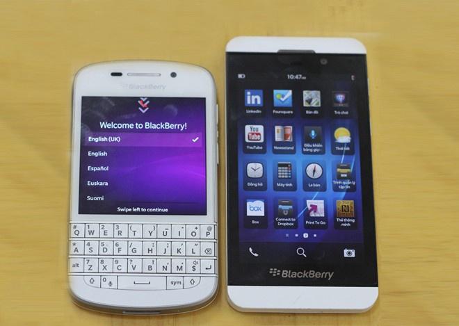 Blog 21h: BlackBerry Z10 va Q10 chinh hang giam gia soc hinh anh