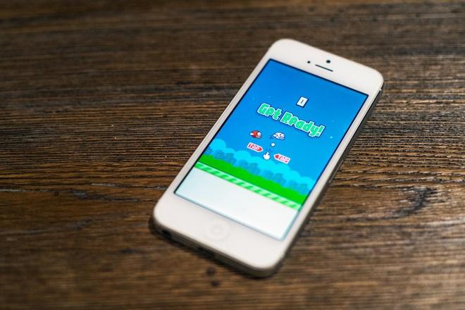 Flappy Bird duoc tim kiem nhieu nhat tai VN tu dau nam 2014 hinh anh