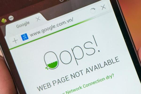 Truy cap Internet tai Viet Nam van cham den ngay 13/3 hinh anh