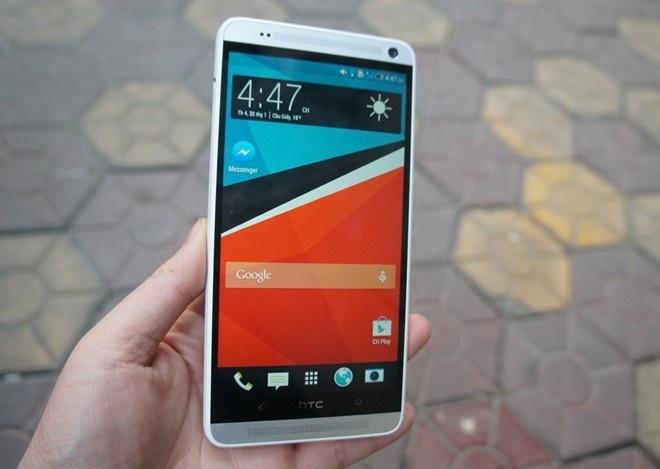 HTC One Max quay lai Viet Nam voi gia con mot nua hinh anh 1