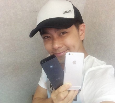 Nhan vien Apple xac nhan iPhone 6 cua Lam Chi Dinh la that hinh anh