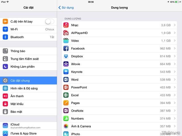 Thu thuat giai phong dung luong cho iPhone, iPad hinh anh 2