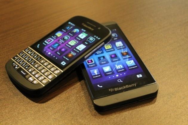 BlackBerry chinh hang o VN ha bao hanh tu 18 con 12 thang hinh anh