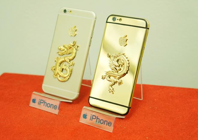 Ban mau iPhone 6 ma vang, dinh da quy xuat hien tai Ha Noi hinh anh