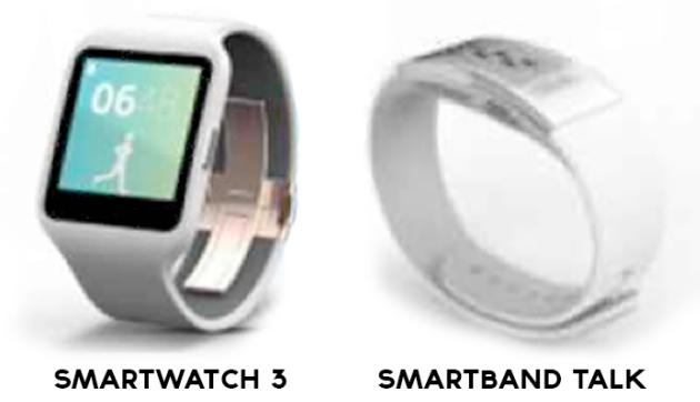 Lo chan dung Smartwatch 3 va Smartband Talk tu Sony hinh anh