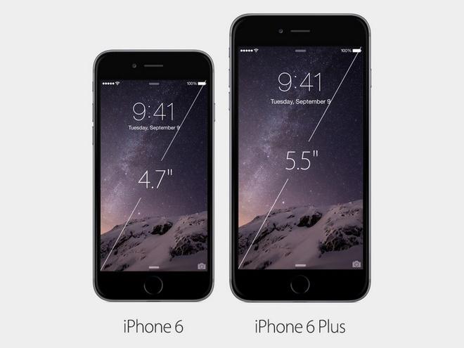 6 diem khac biet lon giua iPhone 6 va iPhone 6 Plus hinh anh 1