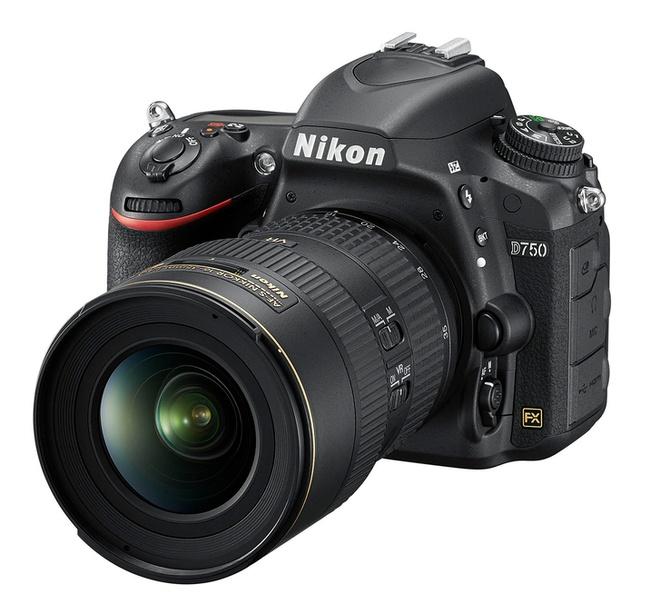 Nikon D750 cam bien full-frame, man hinh lat ra mat hinh anh 1