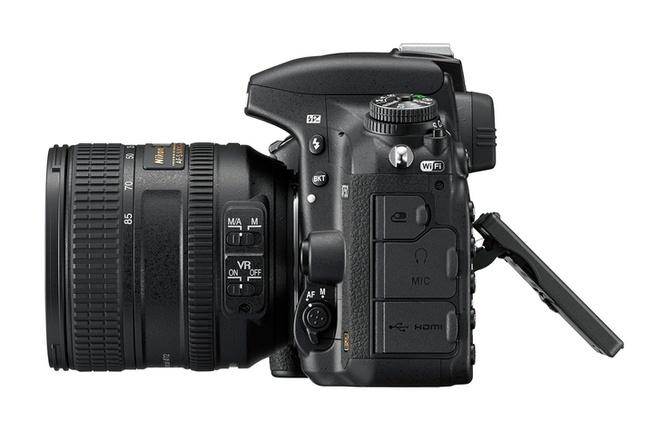 Nikon D750 cam bien full-frame, man hinh lat ra mat hinh anh 2