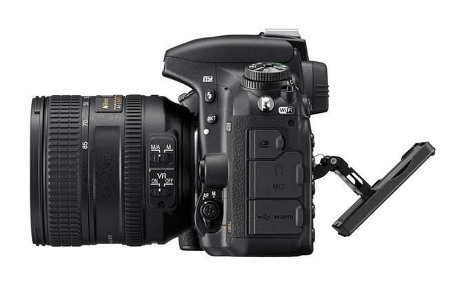 Nikon D750 cam bien full-frame, man hinh lat ra mat hinh anh 3