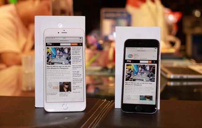 Bo doi iPhone 6 va 6 Plus dau tien ve Viet Nam hinh anh