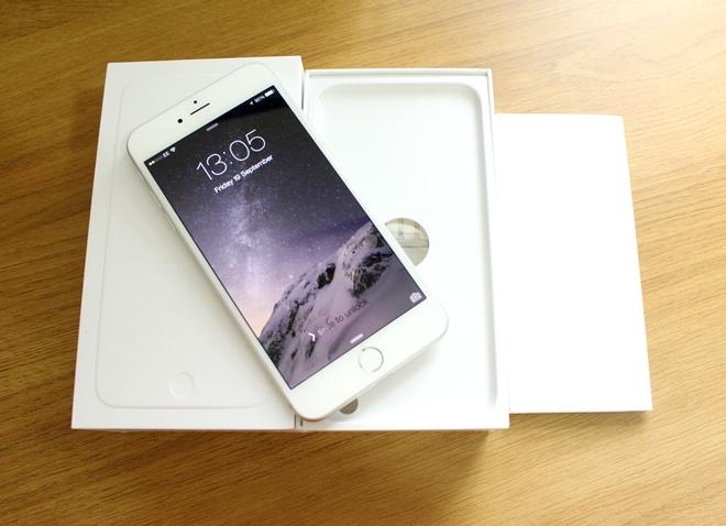 iPhone 6 Plus khan hang, ban cham tai Viet Nam hinh anh 1 iPhone 6 Plus hiện có sức bán chỉ bằng 1/3 so với iPhone 6 tại Việt Nam.