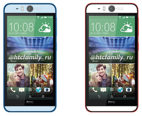 HTC Desire Eye camera truoc 13 cham lo anh chinh thuc hinh anh