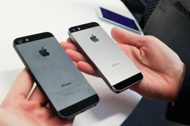 iPhone 5S van ban tot truoc suc ep tu doi thu hinh anh