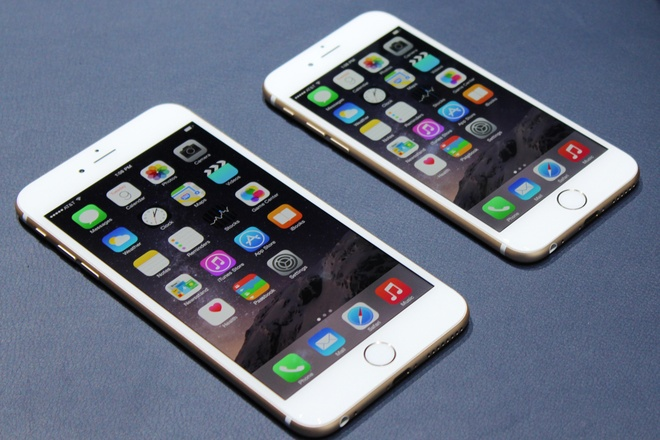 iPhone 6 la tam diem top 10 smartphone xuat sac nhat thang 9 hinh anh