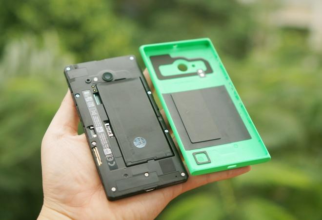 Danh gia Lumia 730: Thiet ke huyen thoai, selfie cao cap hinh anh 10