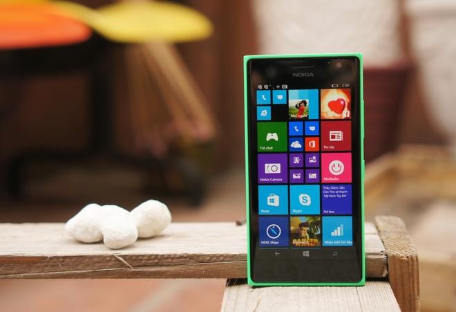 Danh gia Lumia 730: Thiet ke huyen thoai, selfie cao cap hinh anh 3