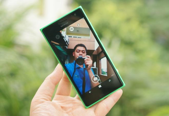 Danh gia Lumia 730: Thiet ke huyen thoai, selfie cao cap hinh anh 2