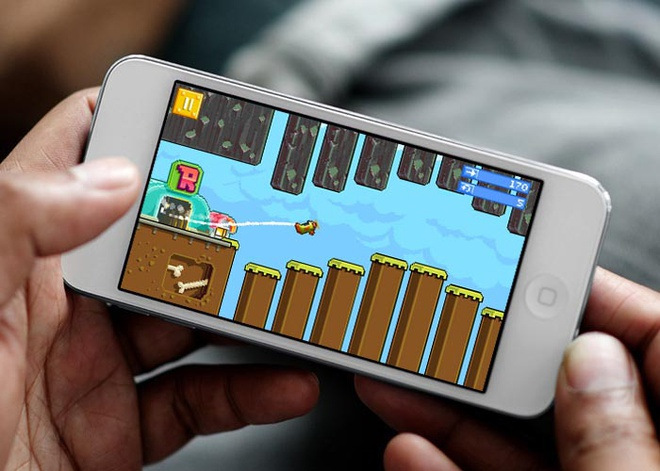 Cha de Angry Birds ra game moi mo phong Flappy Bird hinh anh