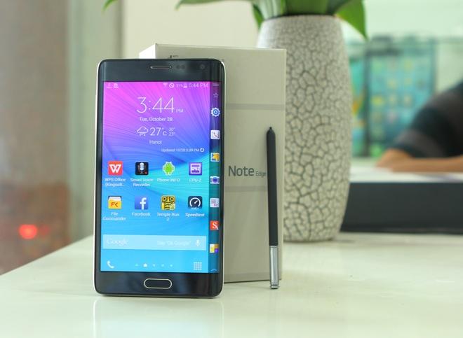 Galaxy Note Edge man hinh cong ve VN voi gia 24 trieu dong hinh anh