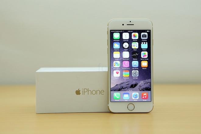 Gia ban iPhone 6 cua nha mang ro ri, tu 16,5 trieu dong hinh anh