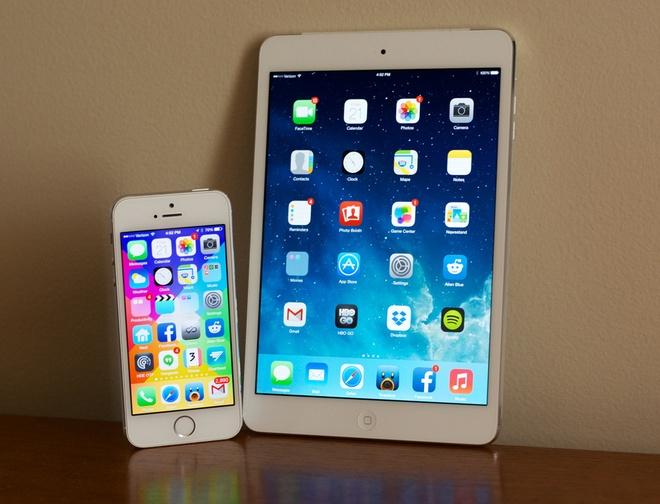 Nguoi dung iPhone, iPad van khong man ma voi iOS 8 hinh anh