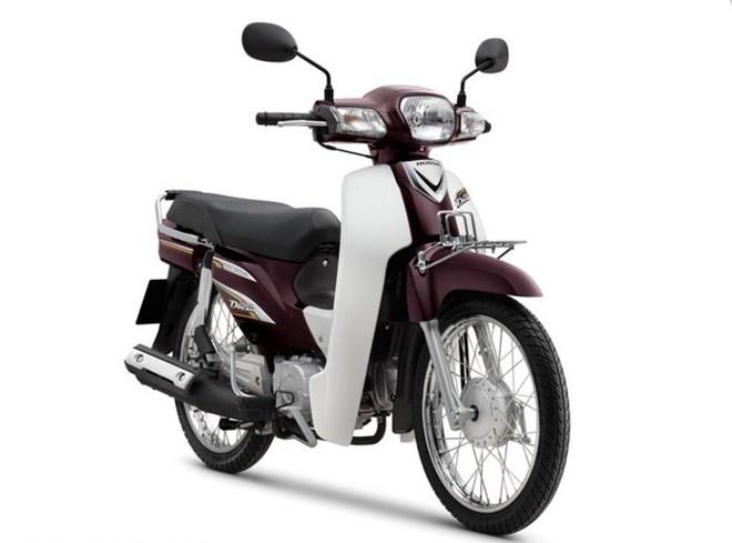 Honda Super Dream 100 dang bi day gia len tren 32 trieu dong hinh anh 1 Mẫu xe Honda Super Dream do Honda Việt Nam sản xuất. (Nguồn: Honda Việt Nam)
