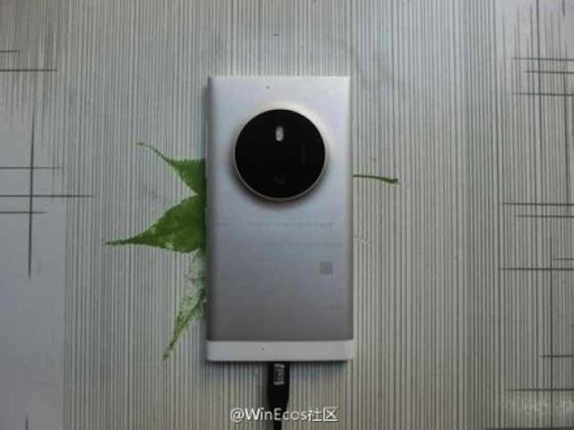 Lo anh thuc te Lumia 1030 vo kim loai, camera ham ho hinh anh