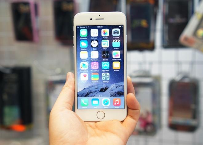 iPhone 6 chinh hang khan hang, xach tay gia on dinh hinh anh