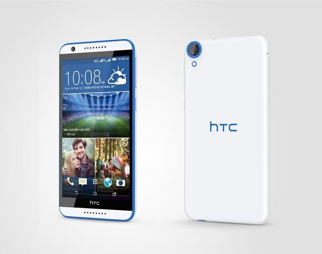 HTC Desire 820S camera selfie 8 'cham' gia 7,8 trieu o VN hinh anh