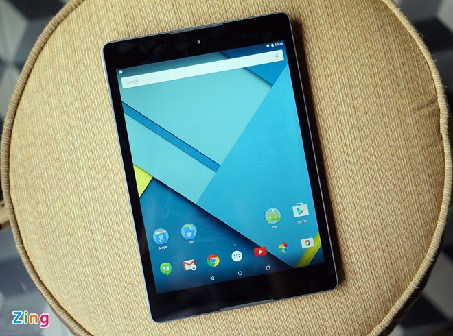 Nexus 9 chinh hang co gia tu 9,1 trieu dong tai Viet Nam hinh anh