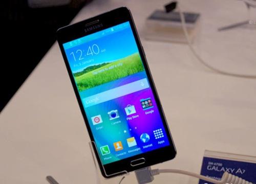 Galaxy A7 mong nhat cua Samsung lan dau xuat hien hinh anh