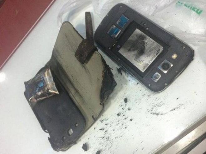 Galaxy S3 bat ngo boc chay tai Thai Lan hinh anh