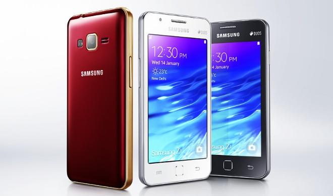 Samsung ra mat smartphone Z1 gia 90 USD hinh anh