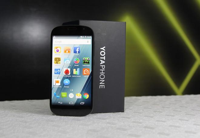 'iPhone nuoc Nga' 2 man hinh ve VN gia 19 trieu dong hinh anh
