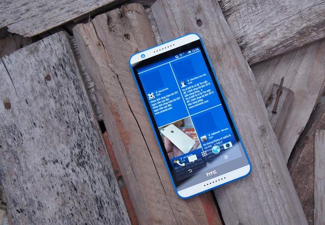 Danh gia HTC Desire 820s: dang dep, selfie tot hinh anh