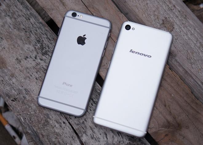 iPhone 6 do dang smartphone 'song sinh' tu Lenovo hinh anh