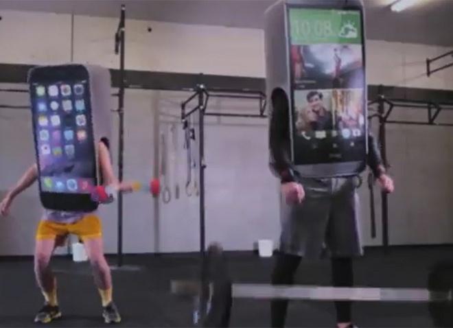 HTC dung nhac Rap cham biem iPhone, Galaxy hinh anh