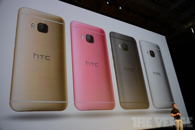 HTC ra mat One M9 cung cac do choi doc dao hinh anh