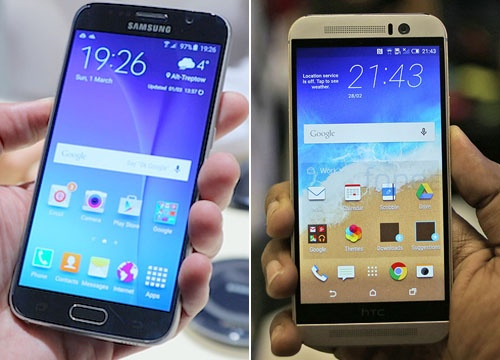 HTC One M9, Galaxy S6 cung ve Viet Nam trong thang 4 hinh anh