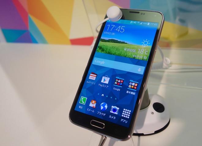 Galaxy S5 giam gia manh tai Viet Nam sau khi S6 ra mat hinh anh
