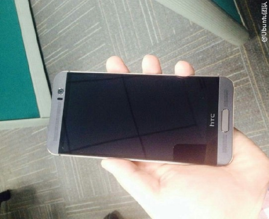 Lo anh HTC One M9 Plus voi nut Home ngoai man hinh hinh anh