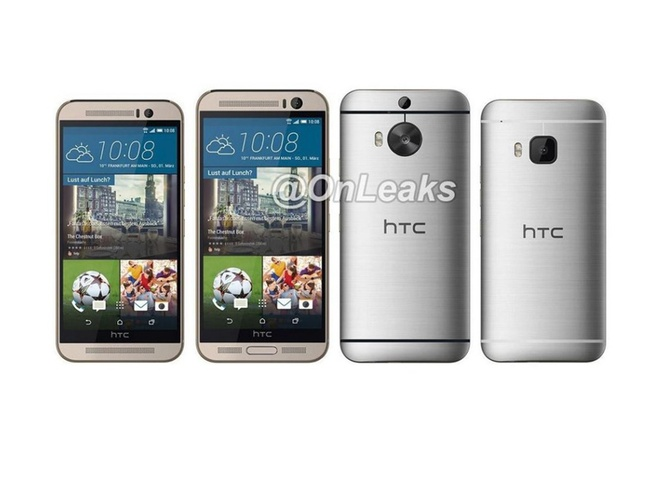 HTC One M9 Plus se co man hinh 5,2 inch? hinh anh