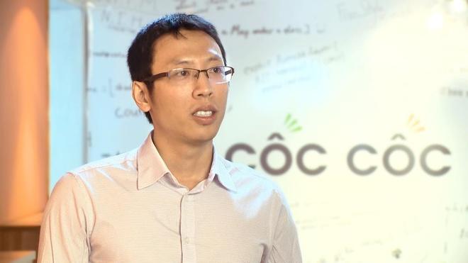 Bao Singapore ca ngoi 'doi thu cua Google' tai Viet Nam hinh anh 1 Ông Lê Văn Thanh - một trong 3 nhà đồng sáng lập của Cốc Cốc. Ảnh: Hiền Lương.