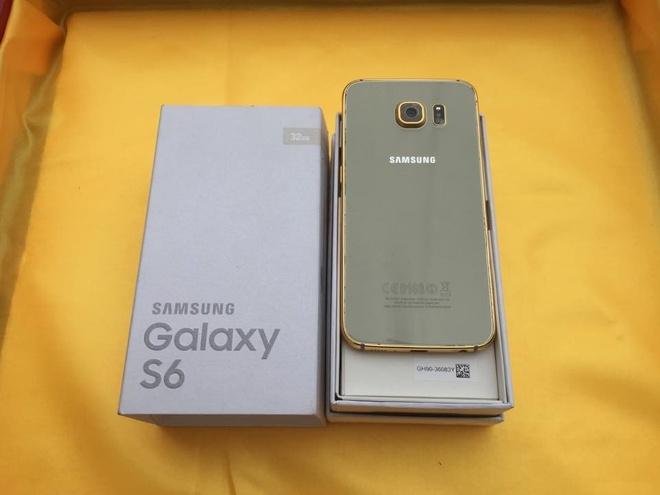 Ma vang Galaxy S6 gia 8 trieu tai Viet Nam hinh anh 1