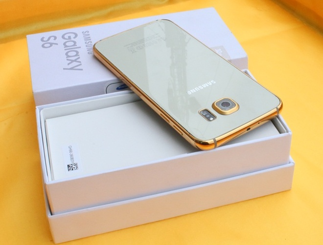 Ma vang Galaxy S6 gia 8 trieu tai Viet Nam hinh anh